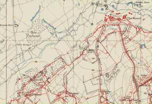 St Eloi trench map