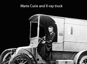 Marie-curie-xray-trucka